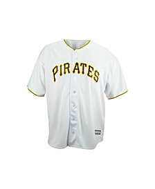 Majestic Big and Tall Pittsburgh Pirates Replica Jersey