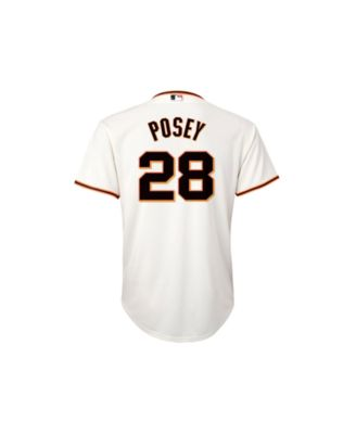 4389d2f84 Majestic Buster Posey San Francisco Giants Replica Jersey