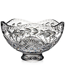 Waterford Master Craft Collection Crystal Summer Solstice Bowl