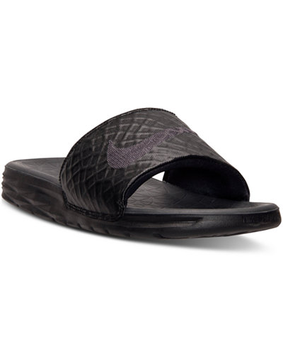 Nike Men S Benassi Solarsoft Slide 2 Sandals From Finish