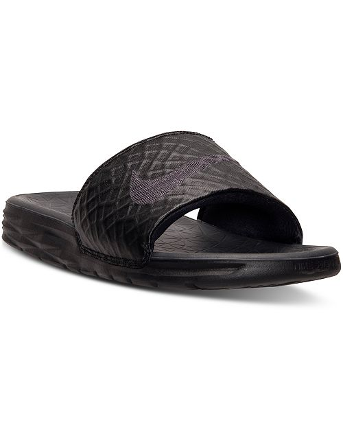 c94354f05 Nike Men s Benassi Solarsoft Slide 2 Sandals from Finish Line ...