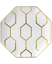 Wedgwood Arris Octagonal Accent Plate White