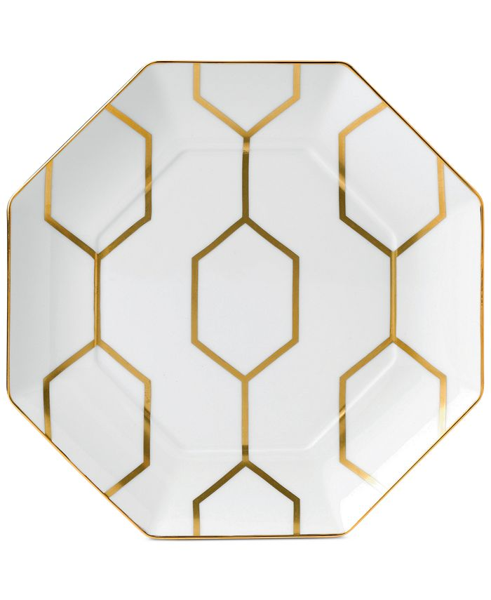 Wedgwood - Arris Octagonal Accent Plate White