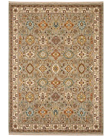"Sovereign Emir Gray 8'8"" x 10' Area Rug"