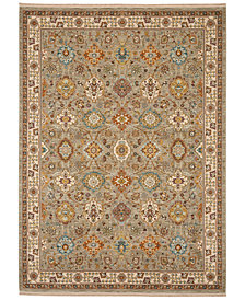 "Karastan Sovereign Emir Gray 4'3"" x 6' Area Rug"