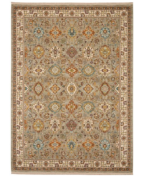 Karastan Sovereign Emir Gray 10 X 14 Area Rug Rugs Macys