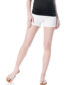 A Pea In The Pod Jeans Maternity Secret Fit Belly® Cuffed Shorts