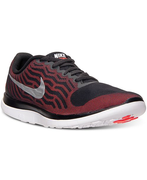 official photos e0e31 a465a ... Nike Men s Free 4.0 V5 Running Sneakers From Finish ...