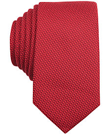 Bar III Solid Knit Skinny Tie