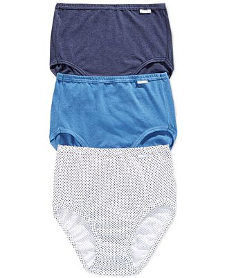 Jockey Elance Cotton Brief 3 Pack 1484
