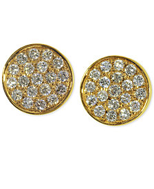 EFFY Diamond Round Stud Earrings (1/3 ct. t.w.) in 14K Gold, White Gold or Rose Gold