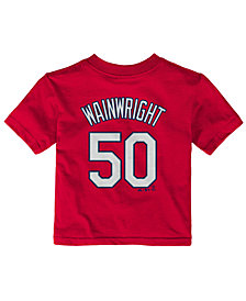 Majestic Babies' Adam Wainwright St. Louis Cardinals Player T-Shirt