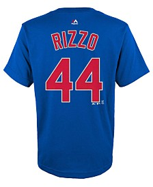 Majestic Toddlers' Anthony Rizzo Chicago Cubs Player T-Shirt
