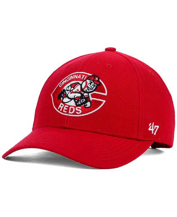 '47 Brand Cincinnati Reds MVP Curved Cap