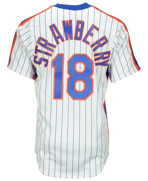 quality design 6ad20 a701e Darryl Strawberry New York Mets Cooperstown Replica Jersey