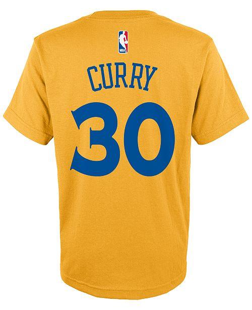 adidas Kids' Stephen Curry Golden State Warriors Player T-Shirt