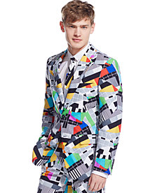 OppoSuits Testival Slim-Fit Suit & Tie