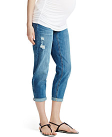 Jessica Simpson Maternity Secret Fit Belly® Boyfriend Jeans, Medium Wash