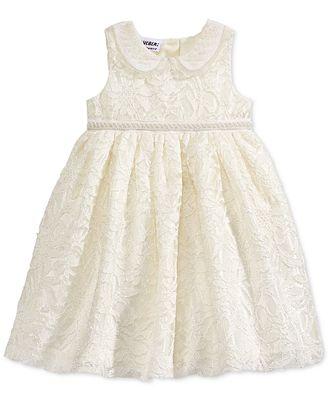 Blueberi Boulevard Baby Girls Lace Dress Dresses Kids