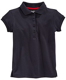 School Uniform Polo, Big Girls Plus