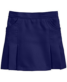 Nautica School Uniform Pleated Scooter Skirt, Big Girls