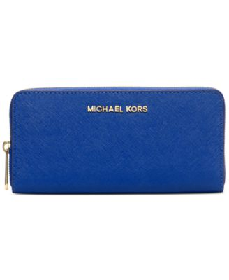 43186d2d00 ... MICHAEL Michael Kors Travel Zip Around Continental Wallet - Handbags  Accessories - Macys ...