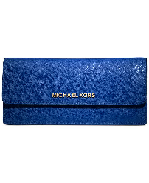 78b2469324bf1 Michael Kors Jet Set Travel Wallet   Reviews - Handbags ...