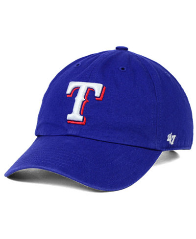 '47 Brand Texas Rangers Clean Up Kids' Cap or Toddlers' Cap