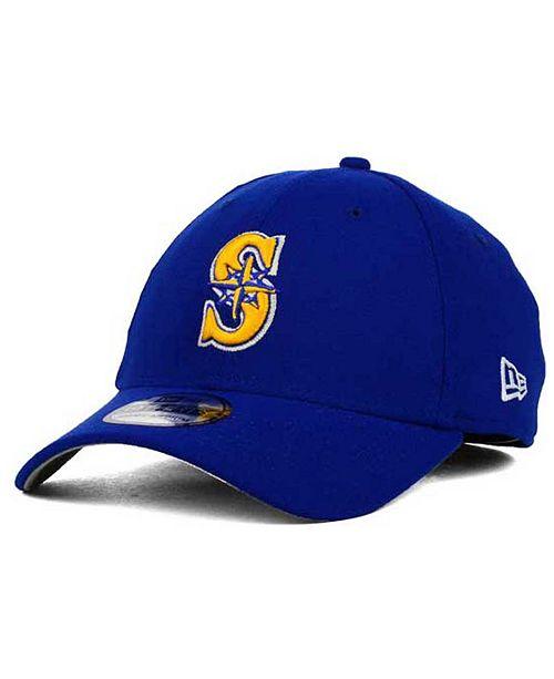 sale retailer 3c596 e5beb ...  47 Brand New Era Seattle Mariners Core Classic 39THIRTY Cap    ...