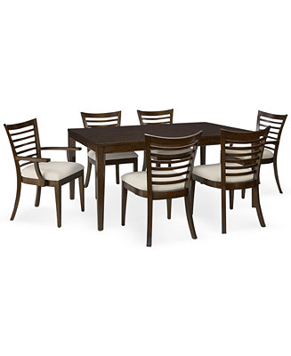 brisbane 7 piece dining room furniture set furniture