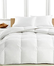 Medium Warmth Down Comforters, Premium White Down Fill, 100% Cotton Cover