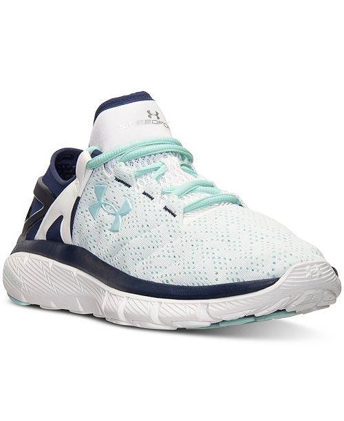 ... Under Armour Women s SpeedForm Fortis Running Sneakers from Finish ... 103be92b22