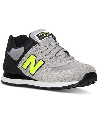 New Balance Women's 574 Sweatshirt Casual Sneakers from Finish Line