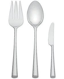 Marchesa by Lenox Flatware 18/10, Imperial Caviar 3 Piece Serving Set