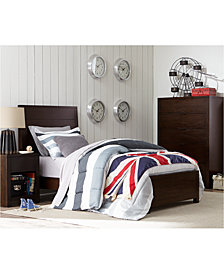 Tribeca Brown Twin Bedroom Furniture Collection, Created for Macy's