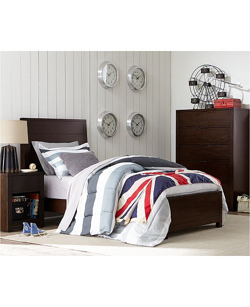 Macys Furnitur: Furniture Tribeca Brown Twin Bedroom Furniture Collection