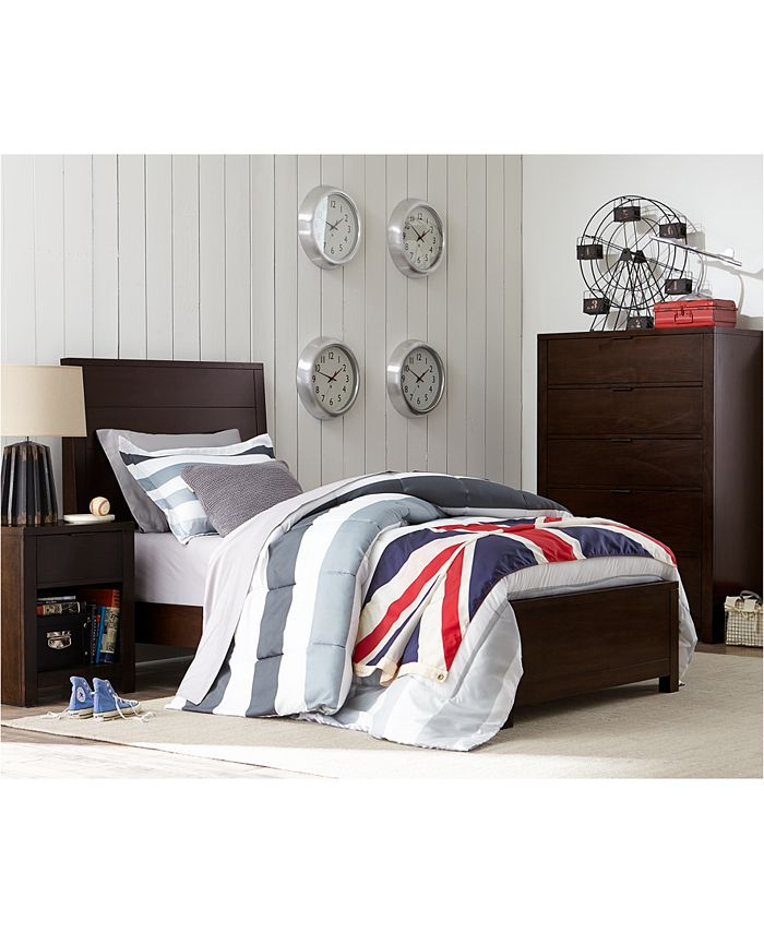 Furniture Tribeca Kids Twin Bedroom Furniture Collection Created For Macy S Reviews Furniture Macy S
