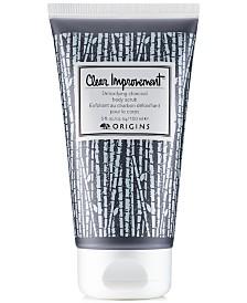 Origins Clear Improvement Detoxifying Charcoal Body Scrub, 5 oz