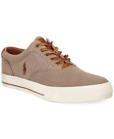 Polo Ralph Lauren Vaughn Chambray Herringbone Sneakers