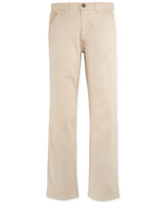 Image of Nautica Twill School Uniform Pants, Big Boys (8-20)