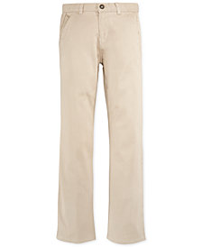 Nautica Twill School Uniform Pants, Big Boys