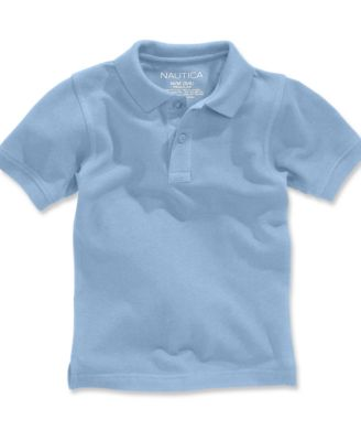 Image of Nautica School Uniform Polo, Little Boys (4-7)