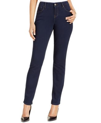 Image of Style & Co Curvy-Fit Skinny Jeans, Only at Macy's