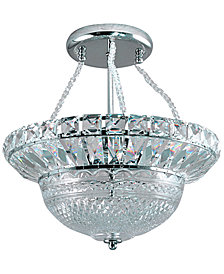 Dale Tiffany Crystal Hill Semi Flushmount