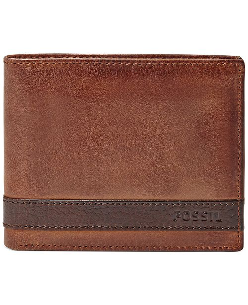 5a2e7b43bc1b Quinn Bifold With Flip ID Leather Wallet