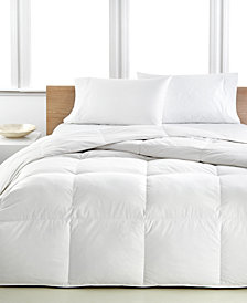 Calvin Klein Light Warmth  Down Comforters, Premium White Down Fill, 100% Cotton Cover