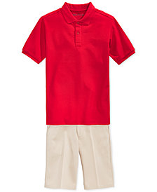 Nautica Uniform Polo & Shorts, Little Boys & Big Boys