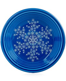 "Snowflake 7 1/4"" Salad Plate, Created for Macy's"