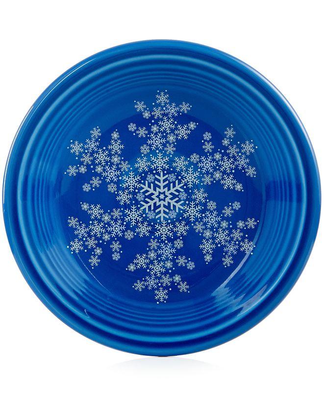 "Fiesta Snowflake 7 1/4"" Salad Plate, Created for Macy's"