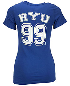 5th & Ocean Women's Hyun-Jin Ryu Los Angeles Dodgers Foil Player T-Shirt